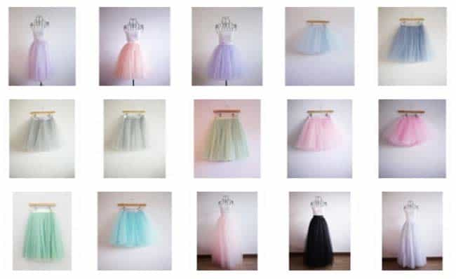 Tutu Skirt @ Bon Bon Boutique