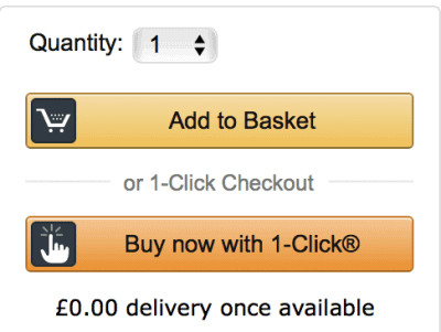 Amazon - checkout process