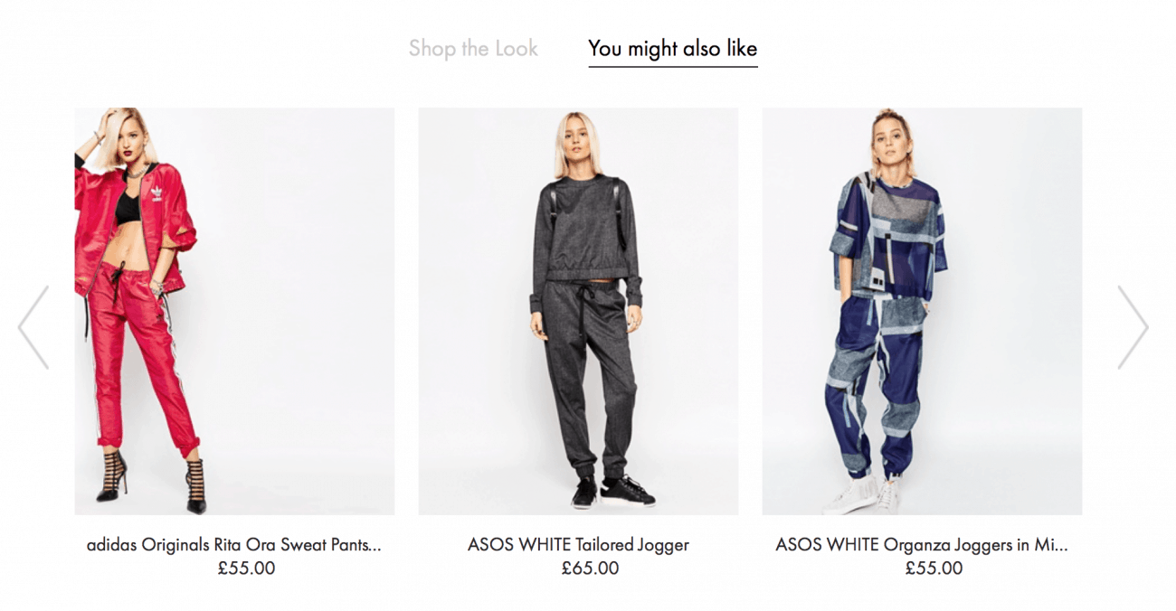 Asos - related items