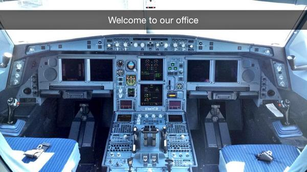 AerLingus Cockpit