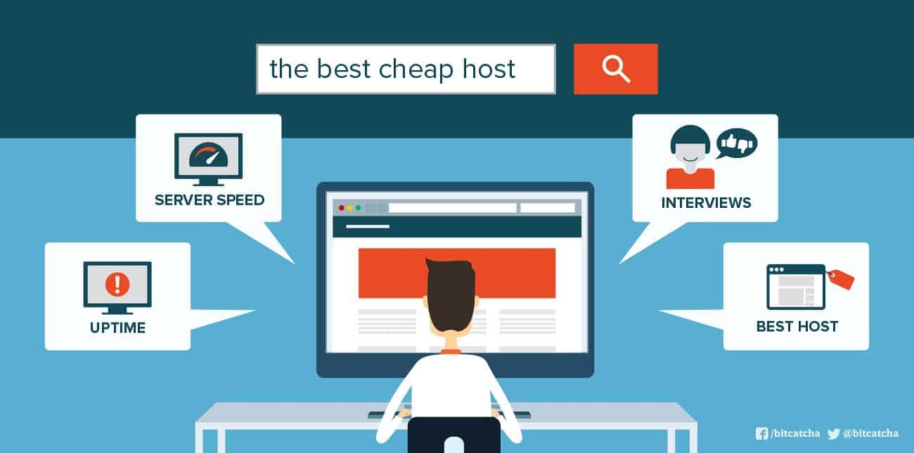 Bitcatcha Helps with Cheap Web Hosting