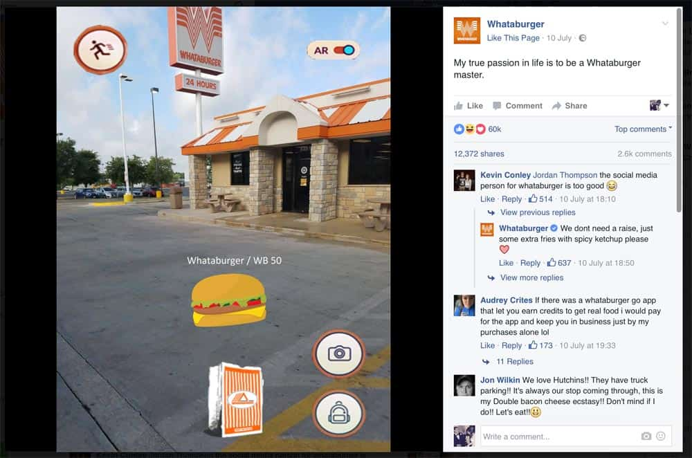 Whataburger Photoshop Picture of Burger