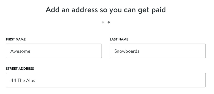 how to add email address on shopify