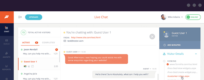 Add Live Chat Support in WordPress