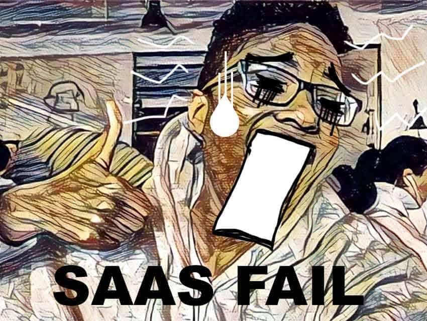 Instagram fail for Saas