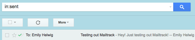application mailtrack