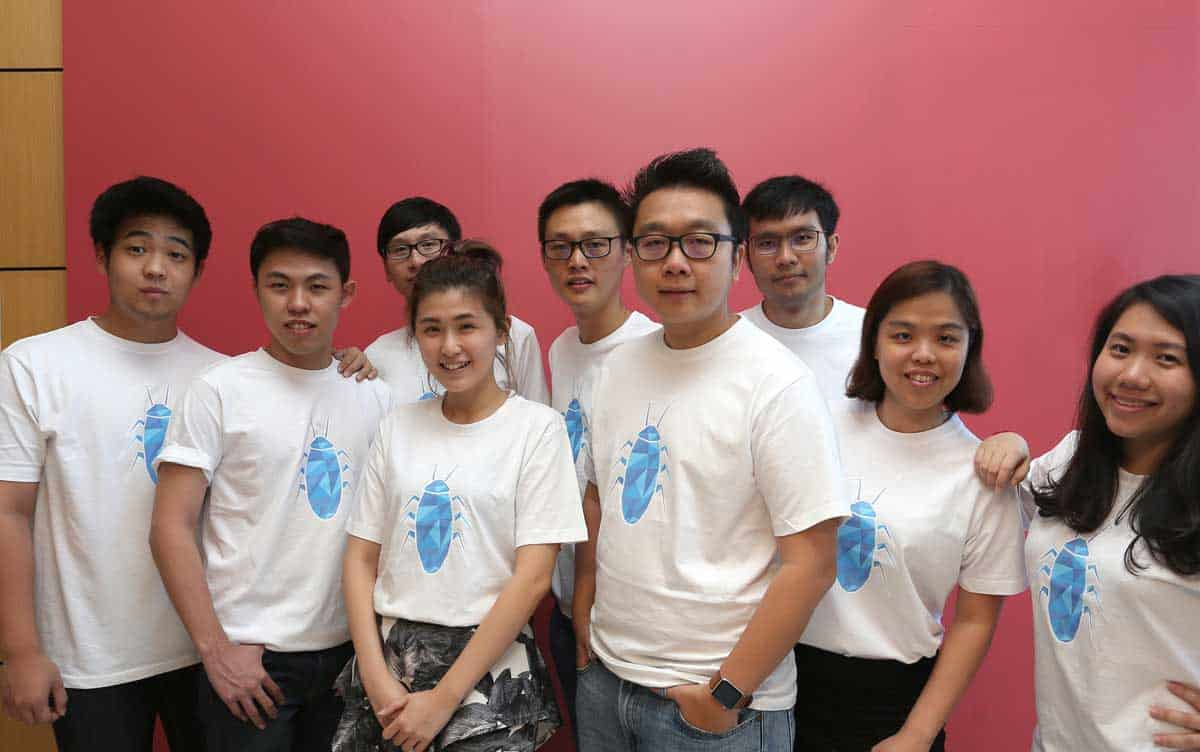 Chan Kee Siak and The Exabytes Cockroach Team