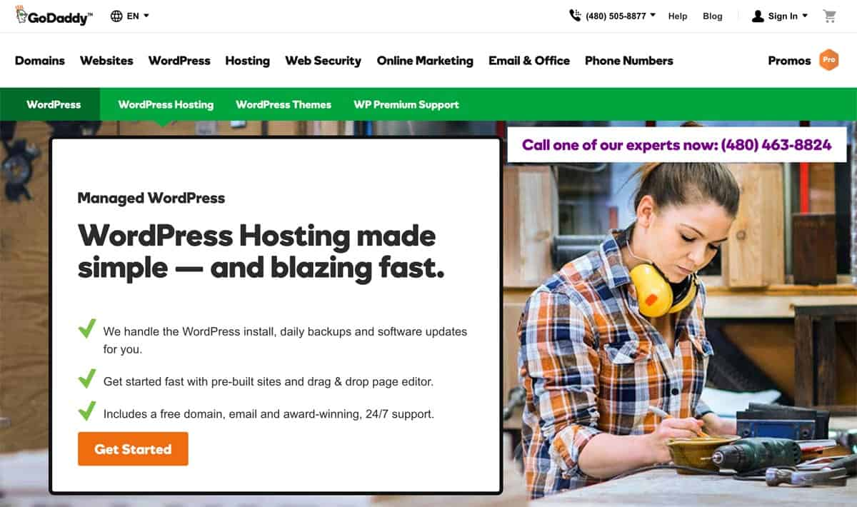 SiteGround VS GoDaddy Managed WordPress Host