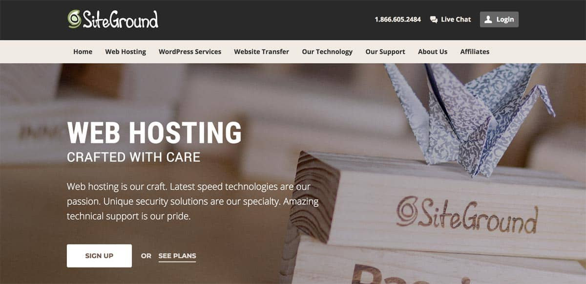 Best Second Hand Hosting Siteground