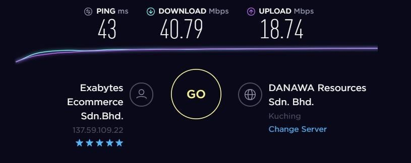 TorGuard VPN Speed Test