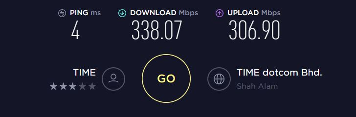 No VPN Baseline