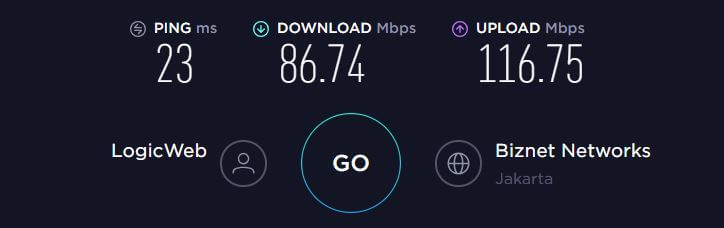 ExpressVPN Speed Test Indonesia