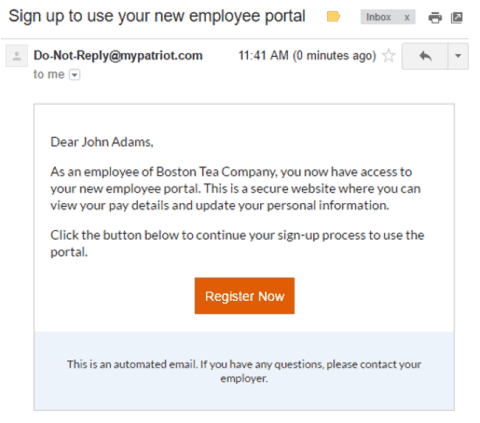 patriot software payroll employee portal