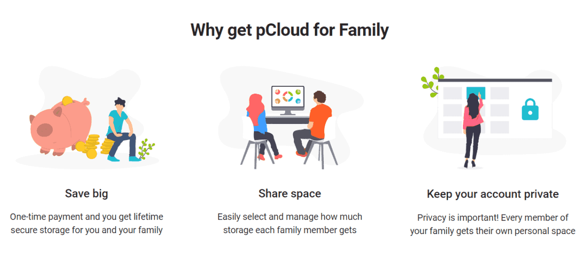 pcloud family plan