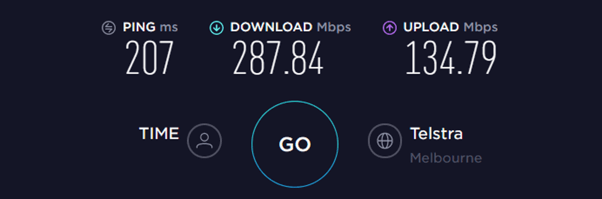 hidemyass vpn speed test aus off
