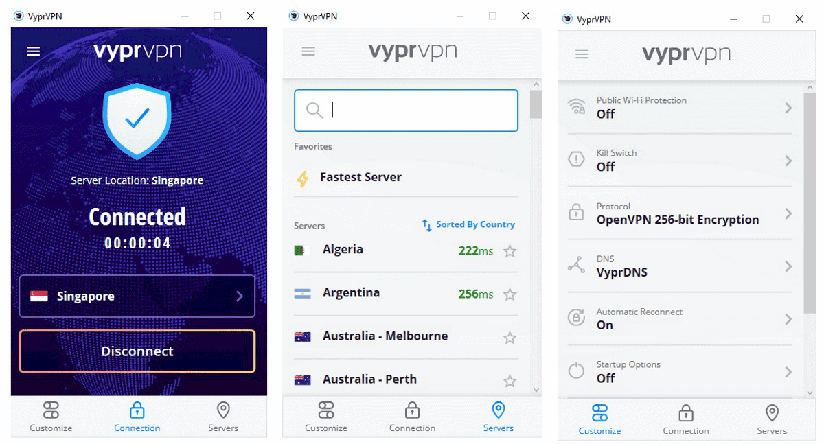 vyprvpn windows app is great