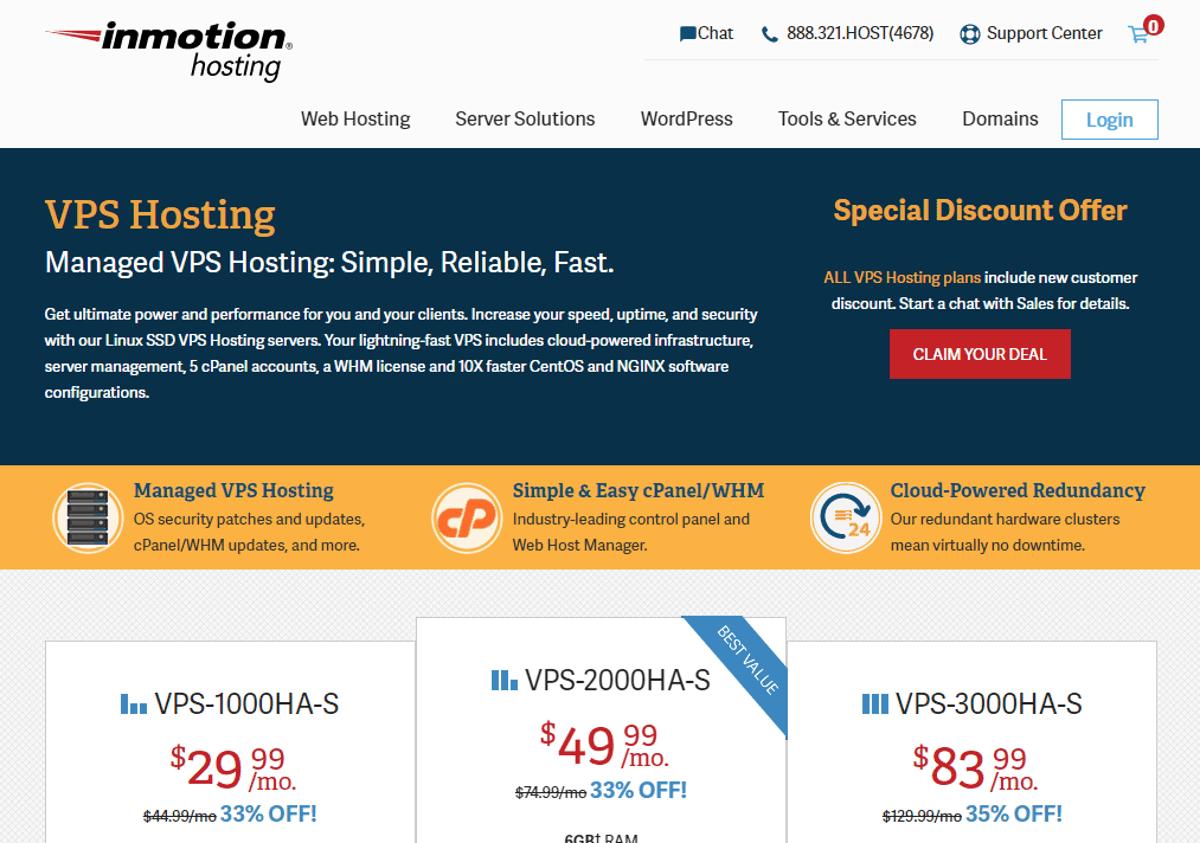 scalahosting vs inmotion hosting in vps hosting