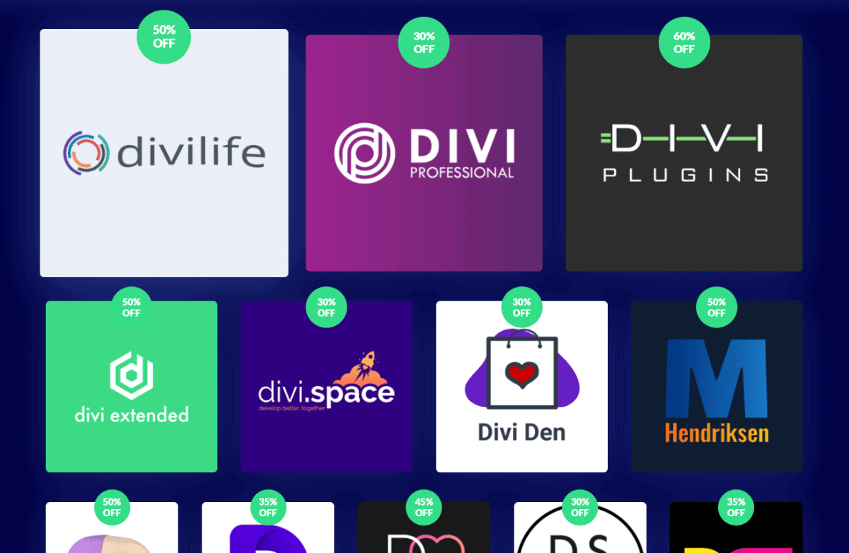 divi black friday 2020 exclusive product sale
