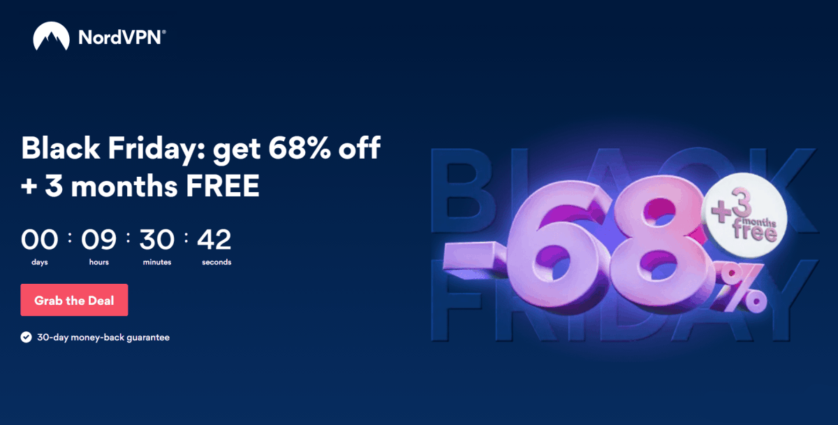 nordvpn black friday deals 2020
