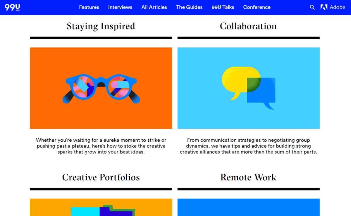 adobe u99 design blog