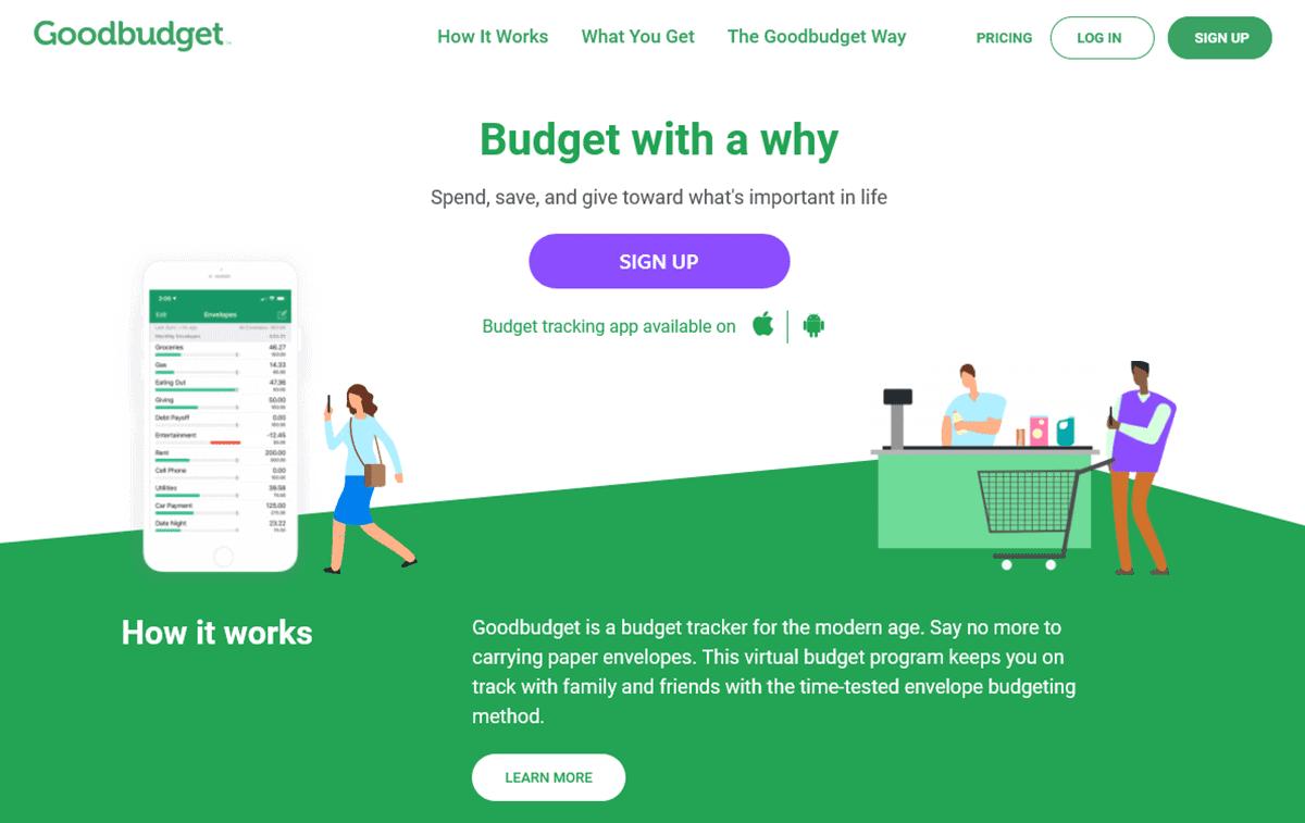 GoodBudget - Home Budget App