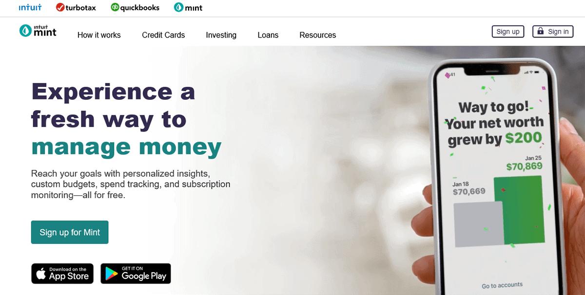 Mint - Online Money Management
