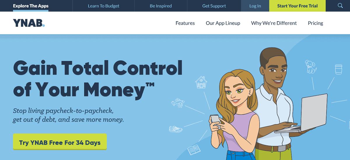 YNAB - Personal Budgeting Software