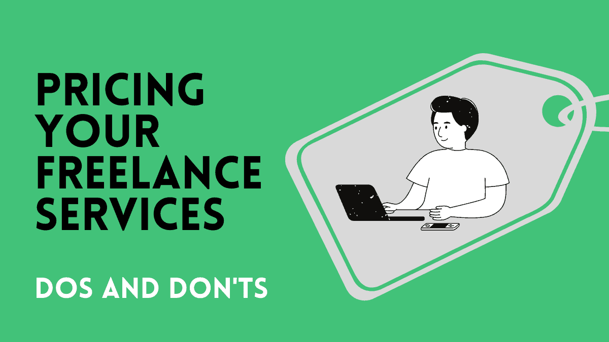 Pricing your freelance services