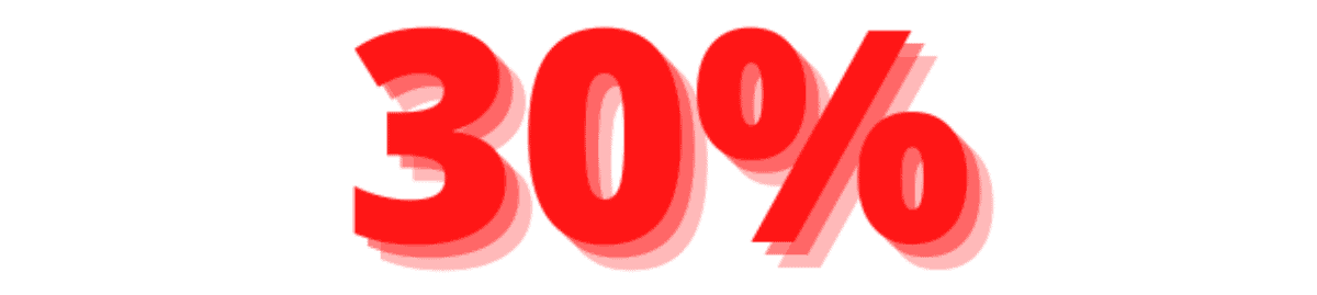 utilize 30% or less of your credit